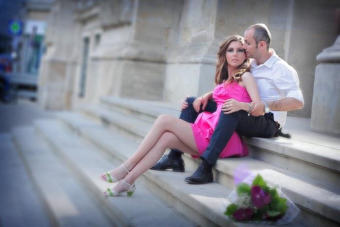 FOTOVIVA Fotografii logodnă  Palatul Mogoșoaia București