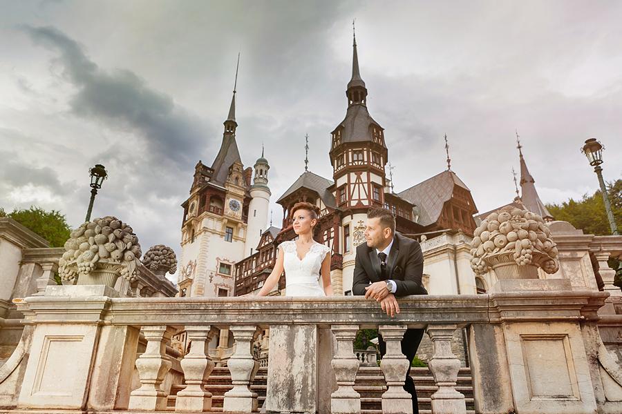 FOTOVIVA Fotografii după nuntă Castelul Peleș