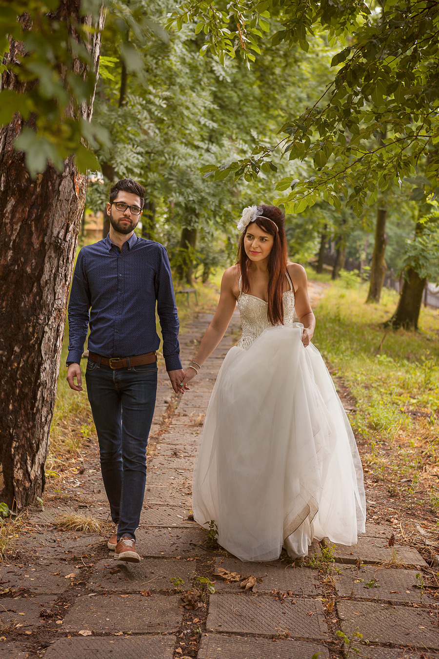 FOTOVIVA Fotografii după nuntă  Conacul Monteoru
